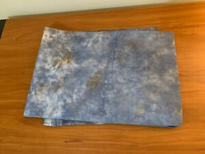 Tie Dye Background Backdrop - Blue with Brown 6x9 Ft.