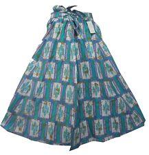 Dashiki Maxi Skirts High Waisted African Wax Ankara Print Midi Skirts Plus Size