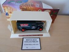 "Matchbox MOY YGB08 1932 GMC Van ""STEINLAGER""  - Approx 11cm long - Boxed"