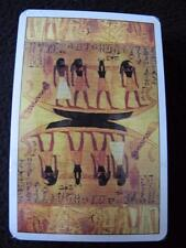 VINTAGE 1990's PACK of  GRIMAUD PLAYING CARDS - ANCIENT EGYPTIAN FRESCO