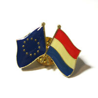 NEW Netherlands Cross Friendship Country Flag Lapel Hat Cap Pin Badge Brooches