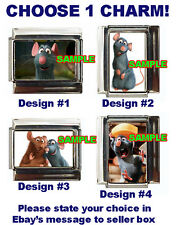 Ratatouille Disney Custom Italian Charm, Emile, choose!