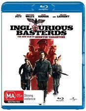 Inglourious Basterds -SINGLE DISC EDITION-BLU RAY LIKE NEW REGION B FREE POST