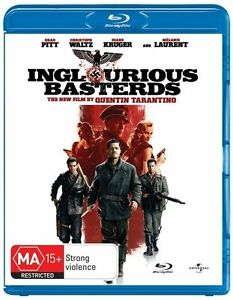 Inglourious Basterds (Blu-Ray) Like New - Free Post