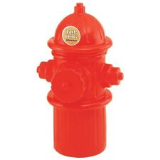 Dog Fire Hydrant Plug Full Size Replica Red Pet Food Toys Beer Storage Container