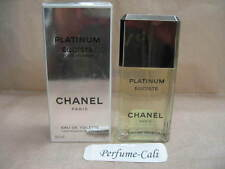 EGOISTE PLATINUM CHANEL 3.4 FL oz / 100 ML EDT Spray Sealed  ** MADE IN FRANCE**