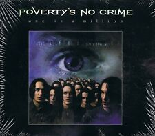 Poverty's no crime-one in a million CD ALBUM neuf neuf dans sa boîte