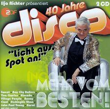 40 JAHRE DISCO (NOCH) MEHR VOM BESTEN / 2 CD-SET - TOP-ZUSTAND