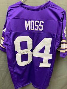 Randy Moss HOF Signed Vikings Football Jersey Autographed AUTO w/ JSA COA Sz XL