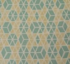 Jones BTY Victoria & Albert Rowan Diamond Ivory Tan Dusty Green Geometric