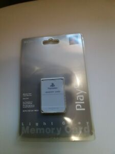 Sony Playstation 1 PS1 Memory Card Official Brand New Light Gray SCPH-1020 OEM