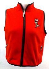 POWDER PUFF GIRLS Women's Winter Vest Coat, L, ORANGE Jacket FLEECE