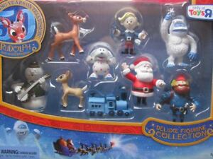 DELUXE FIGURINE COLLECTION 2014 figure rudolph the red nosed reindeer misfit NEW
