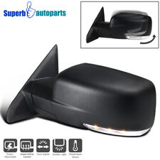 For 2013-2019 Ram 1500 Left Side Mirror w/ Power Heated + Signal Puddle Light