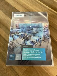 Siemens Simatic Step 7 Professional V14 SP1 Software DVD