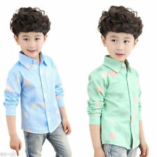 Unbranded Boys' Checked T-Shirts, Tops & Shirts (2-16 Years)