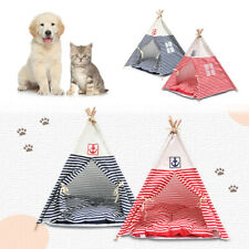 26Inch Foldable Pet Tent Cat Dog Bed Camping Sleeping Puppy House Nest Shelter