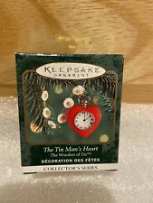 2000 Hallmark Wizard of Oz The Tin Mans Heart Mini Ornament #2 in series