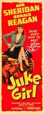 Juke Girl Movie Poster Insert 14x36 Replica