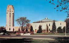 ROYAL OAK, MI  Michigan    SHRINE OF THE LITTLE FLOWER    c1940's CARS  Postcard