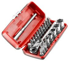 Facom R1PICO 1/4″ Drive Flexi Ratchet, Screwdriver Bit & Socket Set