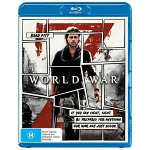 World War Z Blu-Ray **Region B**