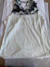 Adidas Aztec Tank Vest Black White XL 20-22 BNWT