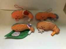 Kirimi.chan salmon Sanrio Plush Doll 4pcs set A Kawaii Cute Rare ZJP