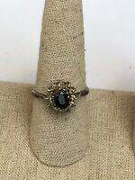 Vintage Stylish Sterling Silver Ring Size R