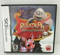 Nintendo DS Rudolph The Red-nosed Reindeer Game Red Wagon Games complete