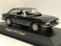 Maxichamps 940112121 Peugeot 504 Coupe 1976 Grey Metallic 1:43 Scale Boxed