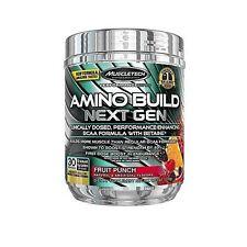MuscleTech Amino Build Fruit Punch Powder 267-Gram