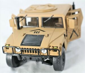 HUMVEE MILITARY POLICE DIE-CAST 1:18 SCALE MODEL TRUCK