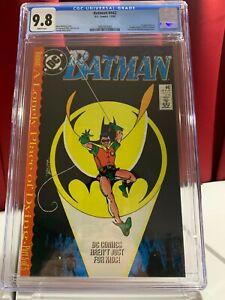 Batman #442 CGC 9.8, 1989, KEY DC COMIC, TIM DRAKE, DCU