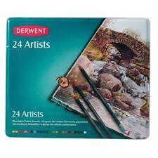 Derwent Artistas Lápiz de colores de 24 piezas conjunto Dibujo Dibujo