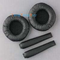 Replacement Ear Pads w/Headband Cushions for Sennheiser PX100 PX200 Headphones