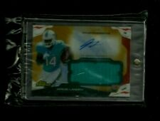 Jarvis Landry Topps Finest GOLD REFRACTOR Jersey Auto Rookie #/50! RARE! Browns!