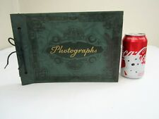 Vtg 1940's Young Couple Family Photo Album Arizona Miami Washington Photographs