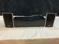SONY S-AIR SURROUND AMPLIFIER TA-SA100WR WIRELESS SPEAKERWire & 2 Speakers Incl