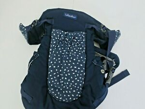 Infantino Flip Advanced 6-in-1 Convertible Carrier, Navy Blue
