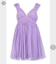 Deluxe Lilac tulle dresses bridal wedding prom