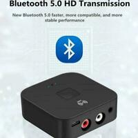 NFC Bluetooth 5.0 Receiver 3.5mm AUX RCA Jack Hifi Wireless A Favor Adapter