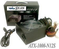 1000W New Gaming PC Silent 120mm Fan Power Supply ATX 2x PCIe 4+4 8pin 12V PSU