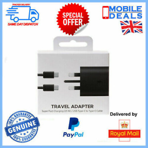 25W USB-C Fast Charger Adapter / Cable For S21/S21+ / Ultra 5G