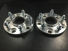 2X HUBCENTRIC WHEEL SPACERS ADAPTERS ¦ 5x114.3 ¦ 12X1.25 ¦ 66.1 CB ¦ 15MM THICK