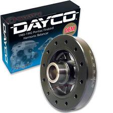 Dayco Harmonic Balancer for 1985-1992 Pontiac Firebird 5.7L 5.0L V8 - Engine sn