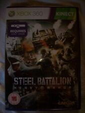 JEU  XBOX 360 steel battalion hervy armor NEUF sous blister en anglais KINECT
