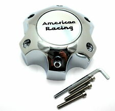 American Racing Chrome Wheel Center Hub Cap Bolt-On 6x5.5 6x139.7 AR893 Mainline