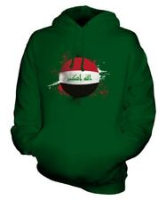 IRAQ FOOTBALL UNISEX HOODIE TOP GIFT WORLD CUP SPORT