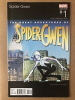 Spider-Gwen Ghost Spider #1 Hip Hop Variant 2015 Marvel Comic Sticker Attached
